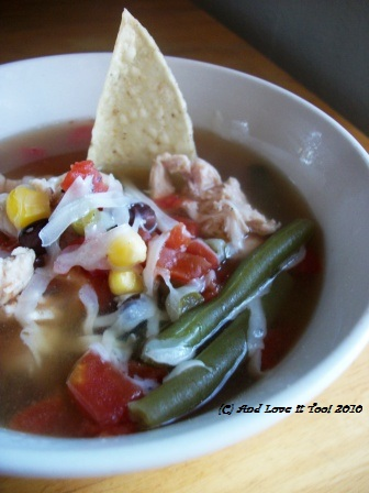 Easy Tortilla Soup (Gluten Free, Dairy Free, Soy Free)
