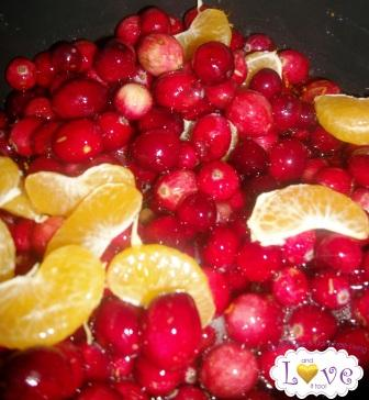 Clementine Pecan Cranberry Sauce (Gluten Free, Dairy Free, Vegan Option)
