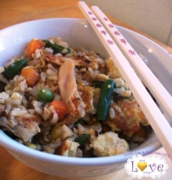 Fried Rice (Gluten Free, Dairy Free, Casein Free)