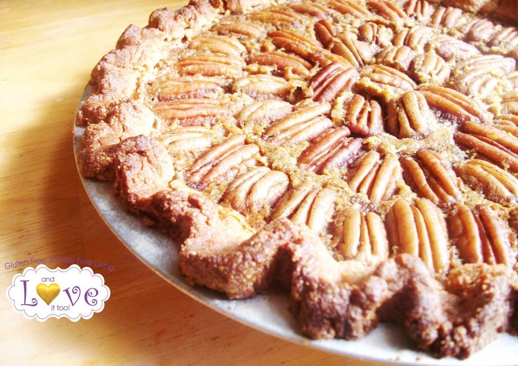 Pecan Pie (Gluten Free, Dairy Free, Casein Free, Corn Free)