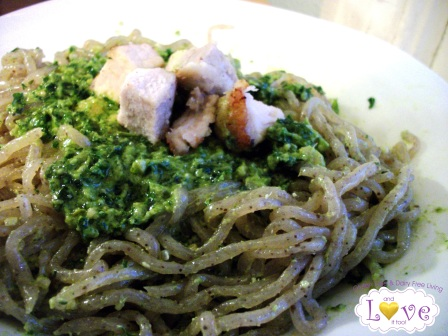 Vegan Basil Pesto with Kale