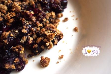 Blueberry Cobbler (Gluten-free, Dairy-Free, Grain-Free, Vegan)