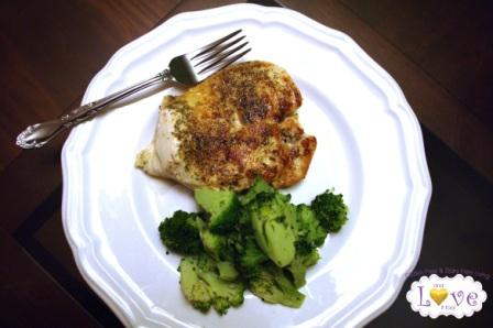 Foodbuzz Tastemaker: Rosemary-Garlic Chicken Breasts with Vegetables