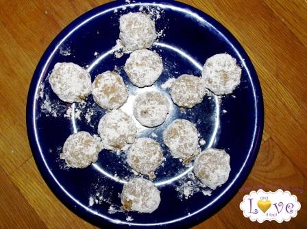 Snowball Cookies (Grain-free, Dairy-Free, Vegan)