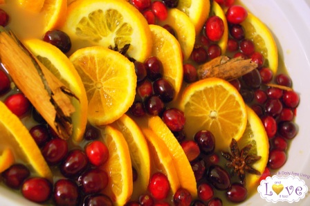 Cranberry-Orange Wassail
