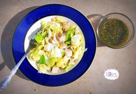 Chinese Chicken Salad (Paleo, Fruit-Sweetened, Whole30)
