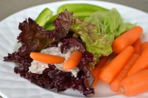 Creamy Dill Lettuce wrap by Gluten-Free Cat