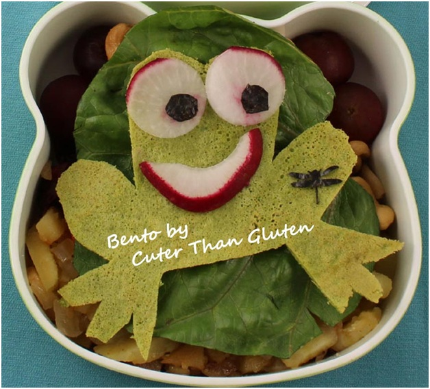Healthy Lunchbox 2014: Dawn from Cuter than Gluten