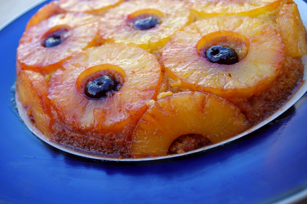 September 13, Blogiversary and Upside Down Pineapple Cake (grain-free, dairy-free, refined sugar-free, paleo)