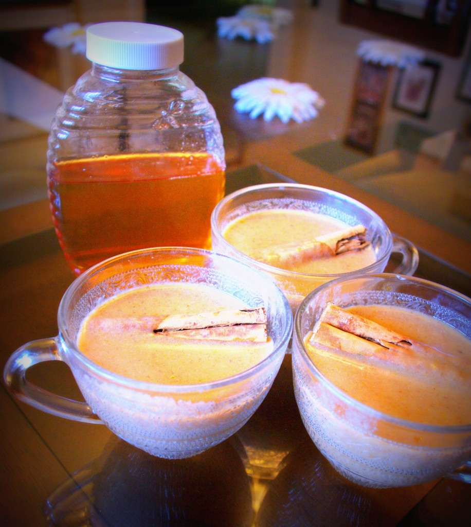 Ingredient-Challenge Monday: Pumpkin Spice Steamer (Dairy-Free, Refined Sugar-Free)