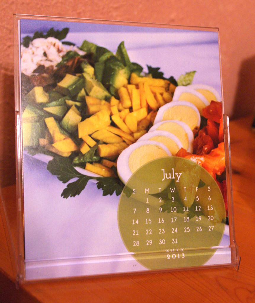 2013 Cookbook Desk Calendar Review and Giveaway!