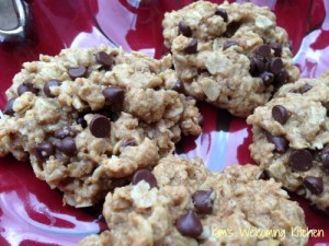 Kim's Welcoming Kitchen Oatmeal Chocolate Chip Cookie