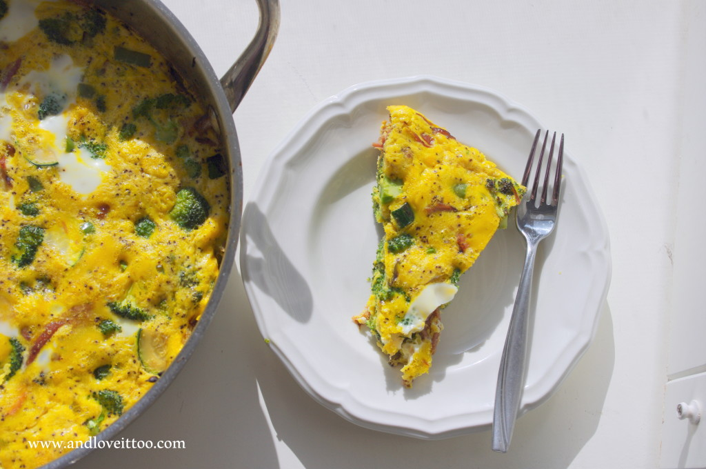 Simple Frittata (mix and match!)