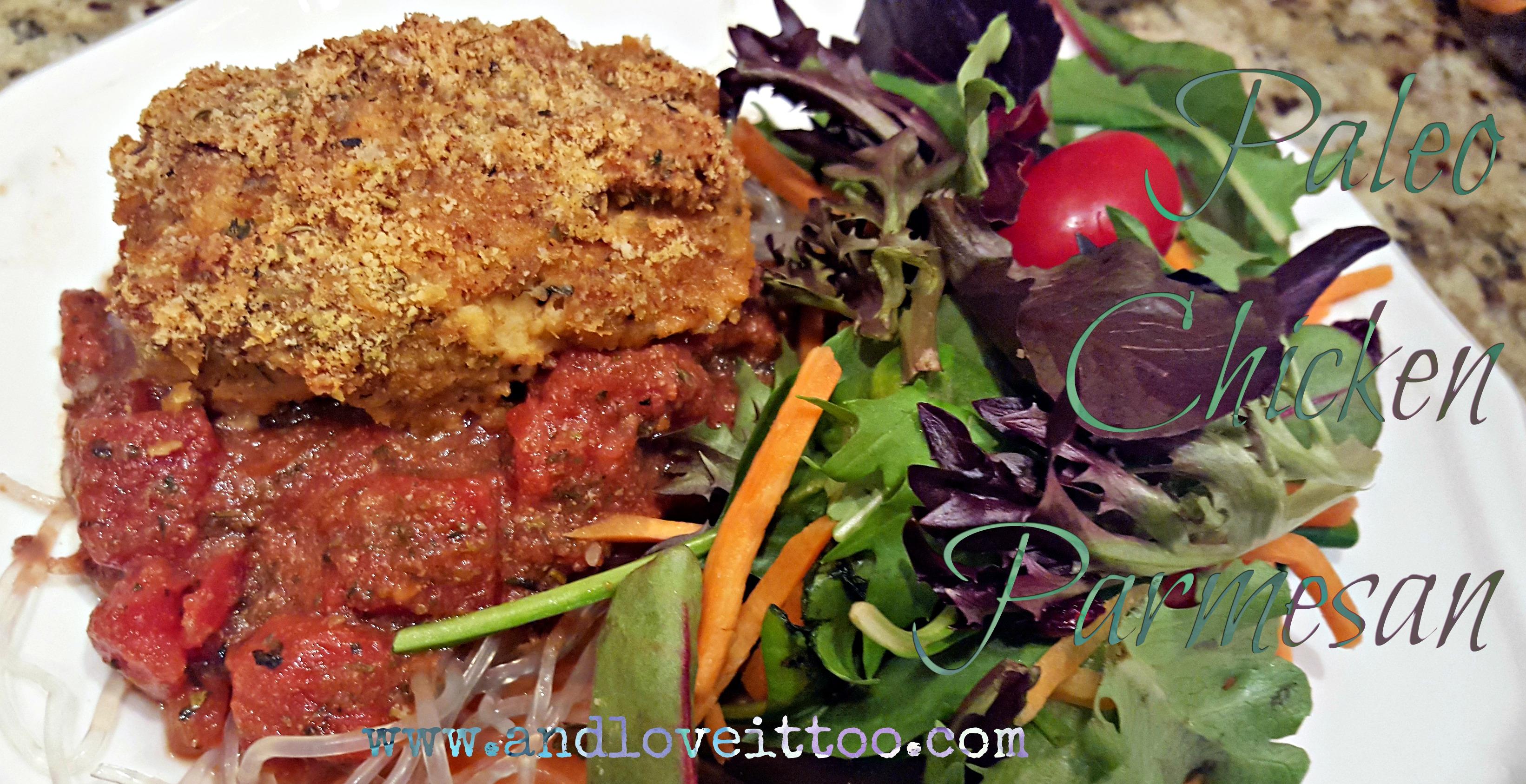 Paleo Chicken Parmesan