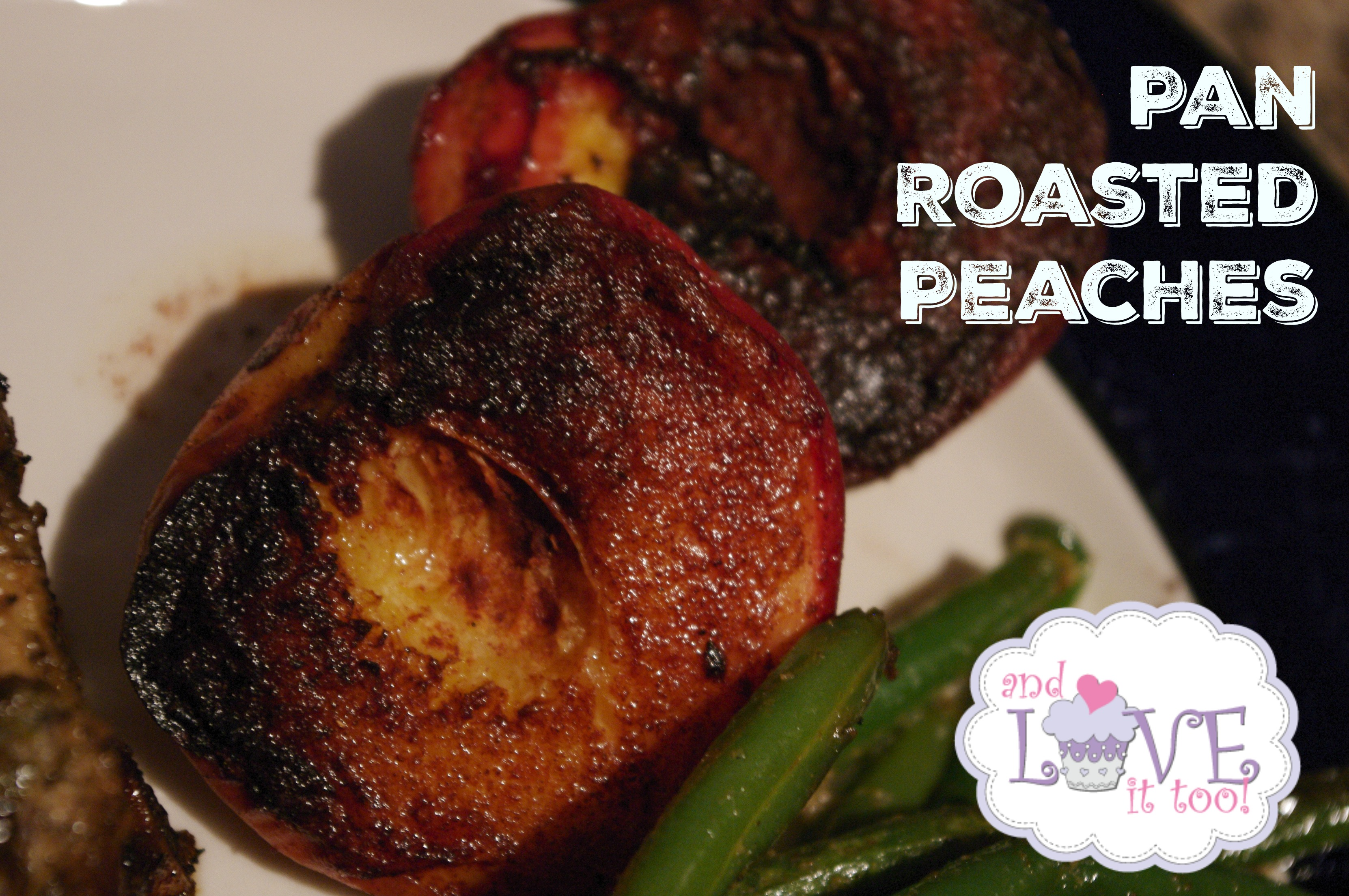 Pan Roasted Peaches 1a