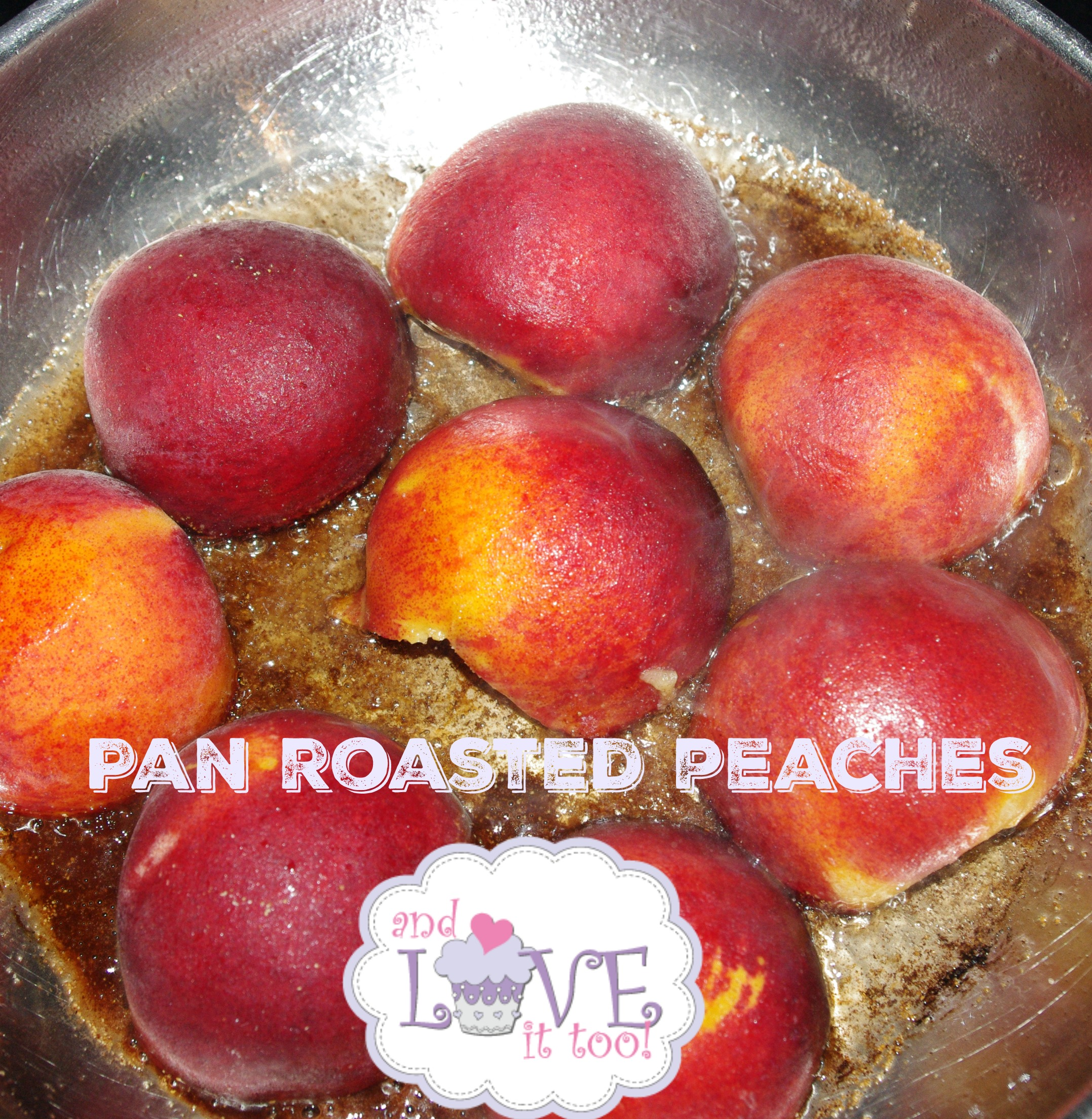 Pan Roasted Peaches a