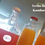 Homemade Yerba Mate Kombucha