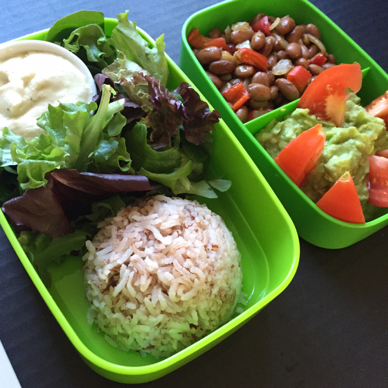 Healthy Mexican Lunchbox from GF with Emily