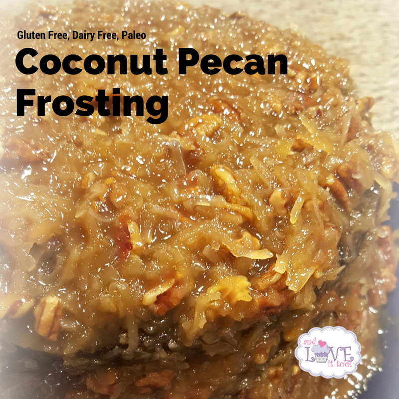 Coconut Pecan Frosting (Gluten Free, Dairy Free, Paleo)