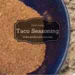 Allergy Friendly Taco Seasoning